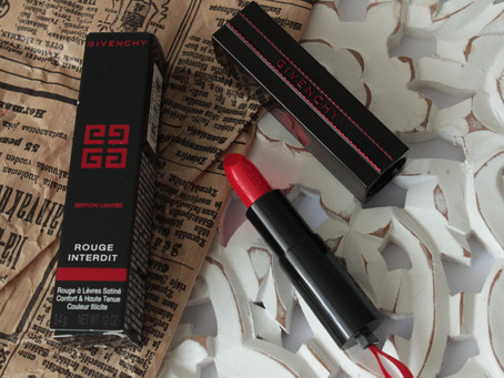 Givenchy Rouge Interdit Lipstick Limited Edition #13 Rouge Interdit
