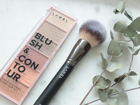 Lamel Face - Blush&Contour Kit + Face Brush