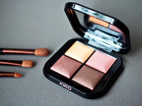 Kiko Baked Eyeshadow Palette Bright Quartet 02