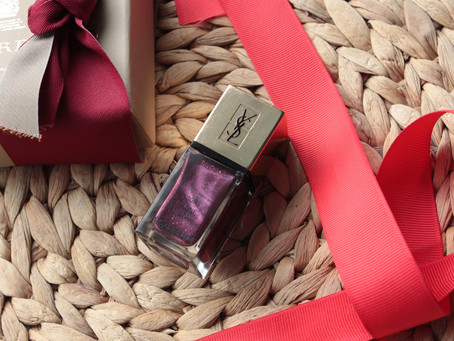 YSL La Laque Couture #109 Prune Metal