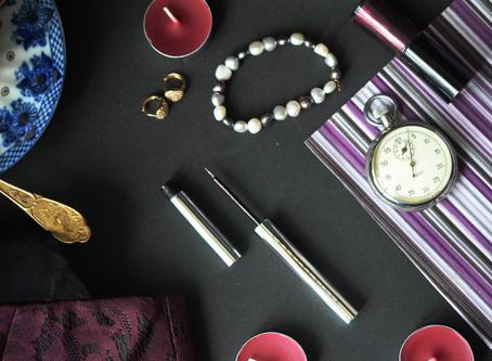 Chantecaille Metallic Eye Liner Violette как цвет уходящего года + образ на Новый год
