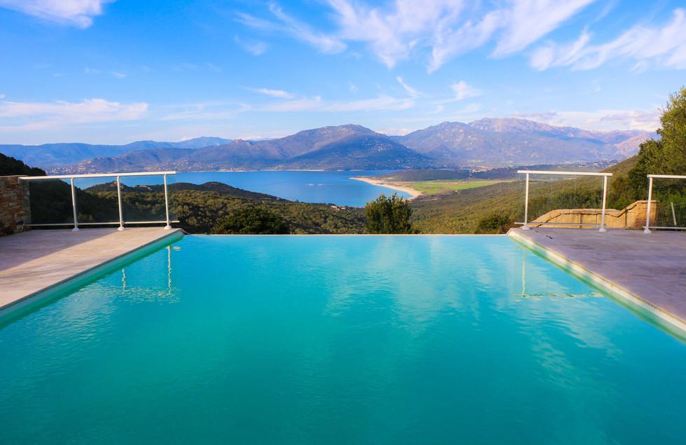 location corse campomoro villa piscine