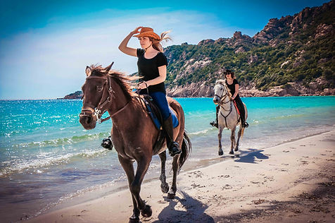 "img src=""roccapina.jpg"" alt=""balade rando plage maquis corse cheval galop cavallu horse corsica roccapina"""