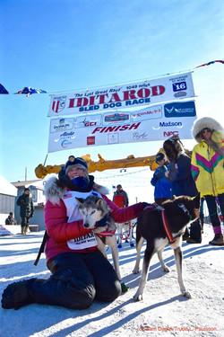 lisbet finish line 16 trude