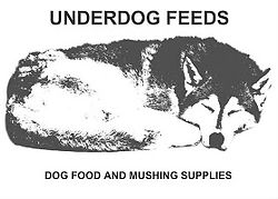 Dog Food and Mushing Supplies.