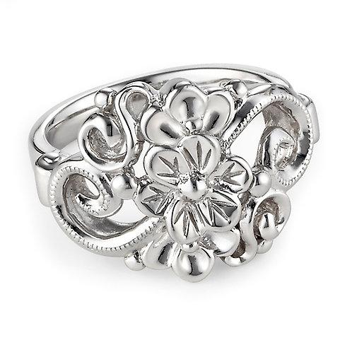 Sterling Silver Garden Ring