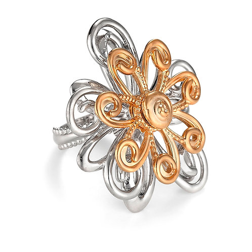 Twirl-A-Whirl Flower Ring