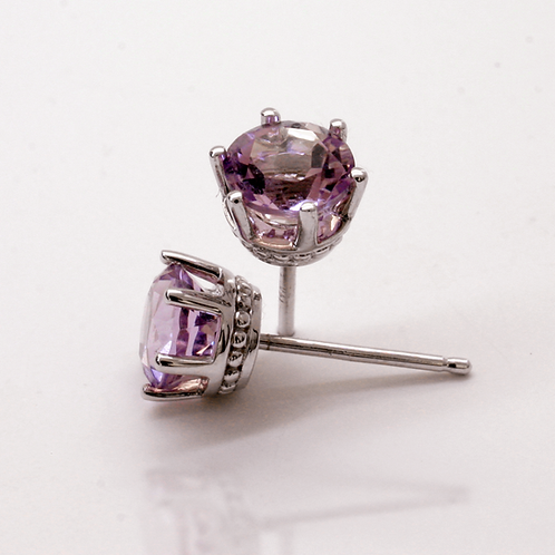 Oct-Rose-Zircon-Touch-Of-Color-Earstuds