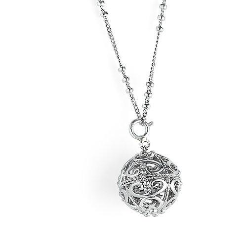 Sterling Silver Classic Ornament Pendant