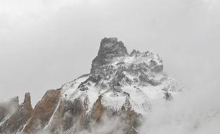Montañas snowcap