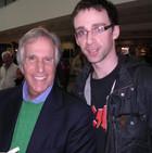 With Henry Winkler aka 'The Fonz'