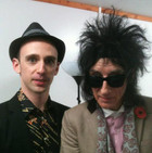Backstage with John Cooper Clarke at the Belfast Festival