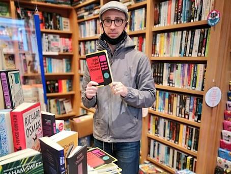 Now in bookshops... well, bookshop!