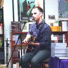 Poetry and song at the 'Squat Pen' event in No Alibis Bookstore