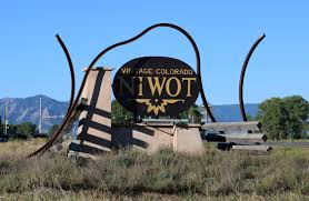 NIWOT Highway Sign 2