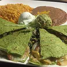 Green Quesadilla