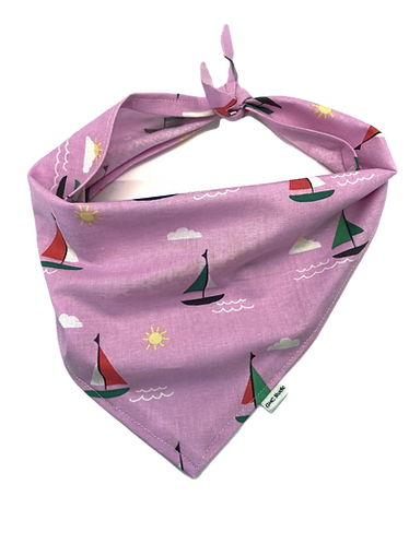 Sailboat Dog Bandana
