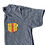 Thumbnail: Kids Grey Tee with Surf Board Pocket