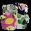 Thumbnail: Kids Youth & Toddler Grey Crew Lemon Tee