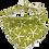 Thumbnail: Lime Starfish Dog Bandana