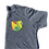 Thumbnail: Kids Grey Tee with Color Splash Pocket
