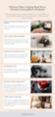Infographic - How to Write Thank You Let