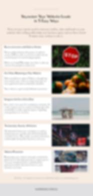 Infographic - Skyrocket Your Website Lea