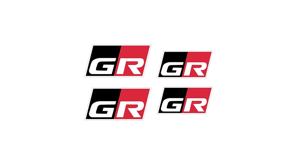 Toyota Yaris GR Gazoo Racing Brake Caliper Decals