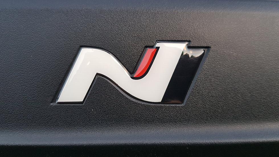 N Performance Gel Logo Decals