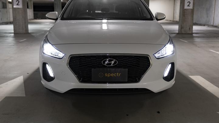 Hyundai PD SR/NLINE Front Headlight LED Upgrade