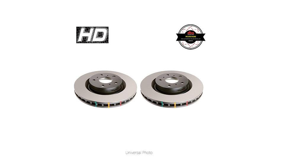 DBA HD 4000 SERIES FRONT ROTORS PAIR - HYUNDAI EXCEL