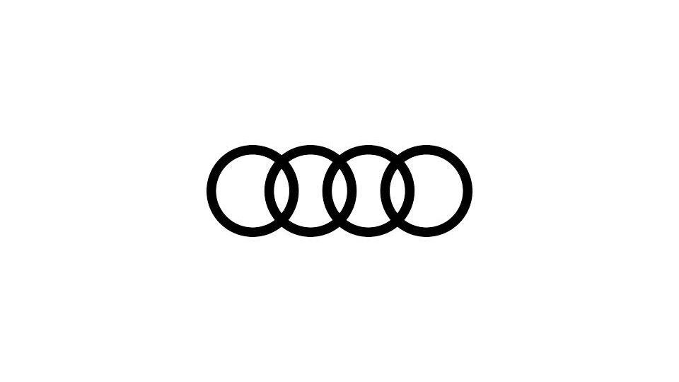 Audi Black Emblem Overlay  - POA