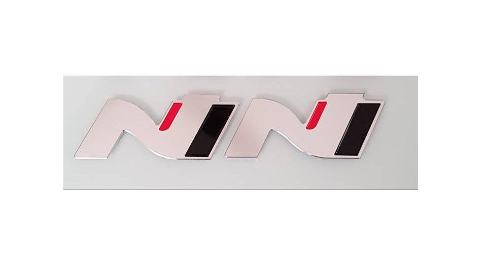 N Performance Metal Badge - i30N
