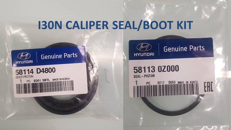 Brake Caliper Seal/Boot Kit - i30N