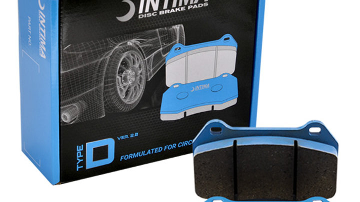 Intima TypeDv2 Ford Focus RS Front Brake Pads