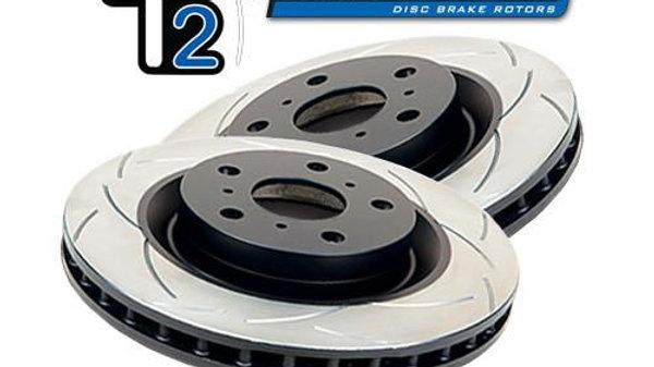 Hyundai Kia SR NLine Cerato DBA T2 Slotted Brake Disc Rotors