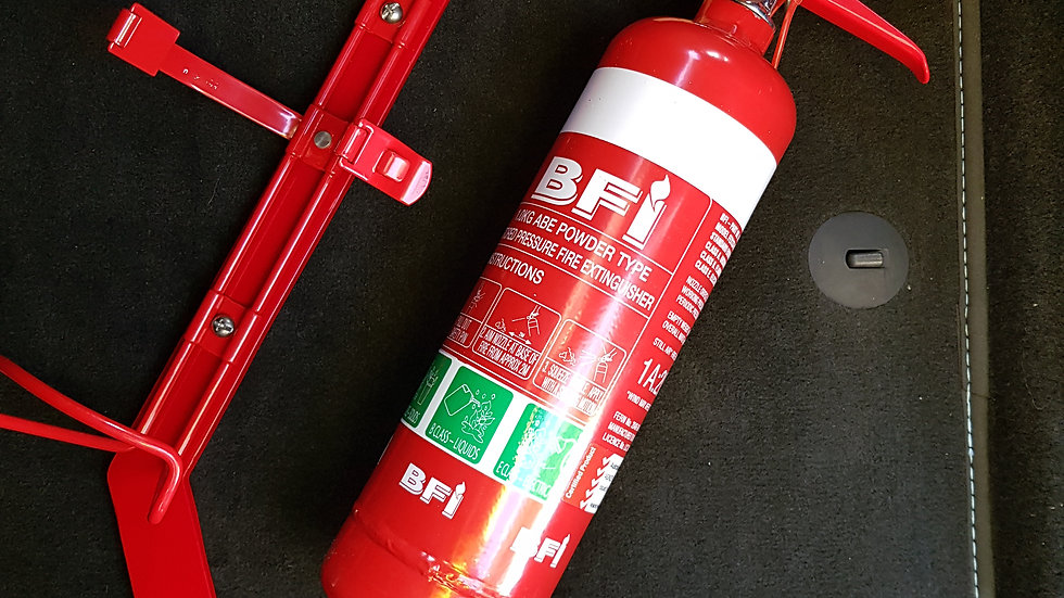 Fire Extinguisher mounting bar