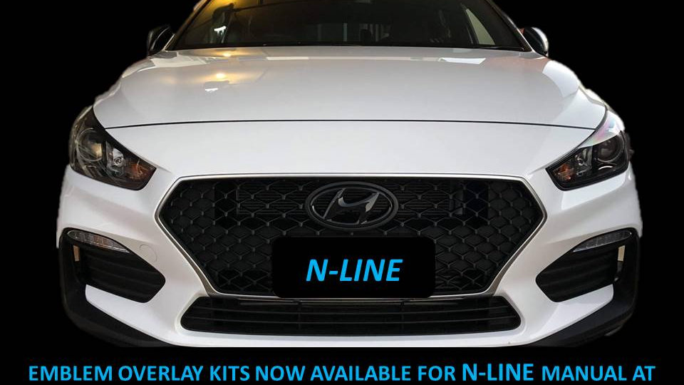N-Line Emblem Overlay Covers Pair