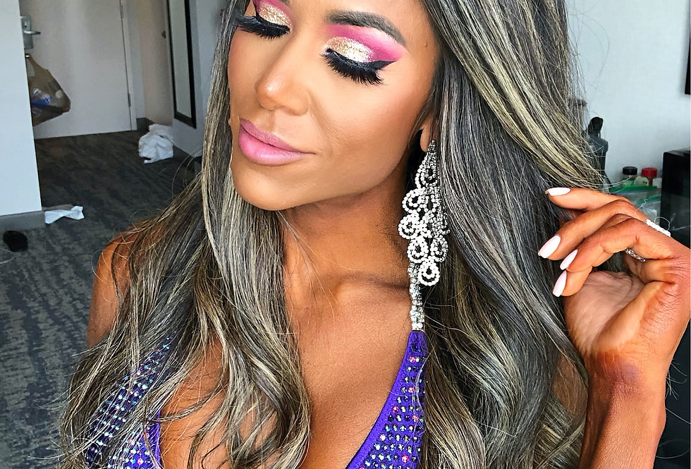 NPC Nationals Championships 1 Day Hair & Makeup Package