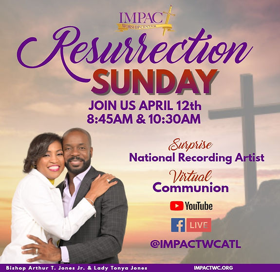 Copy of Resurrection Sunday Flyer - Made