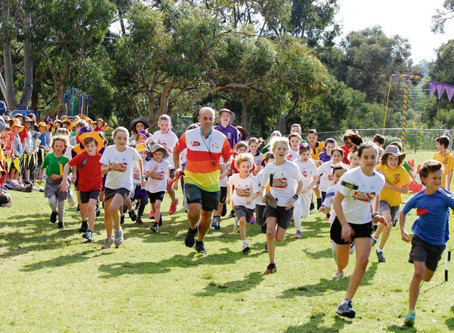 Glen Forrest Primary kids rise to the fitness challenge