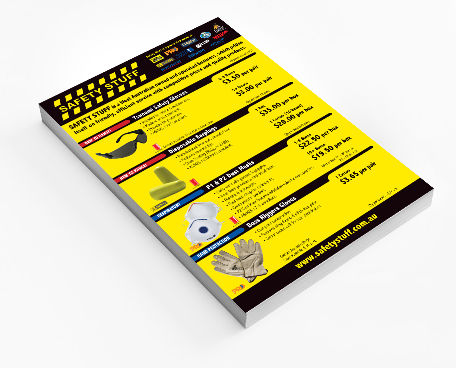 BROCHURE | Safety Stuff