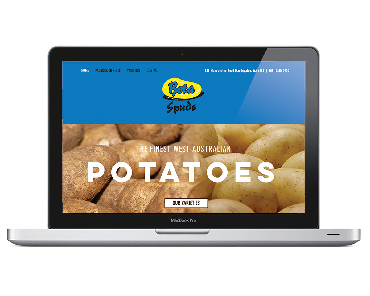 WEB DESIGN | Beta Spuds