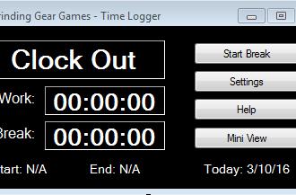 Work Time Logger