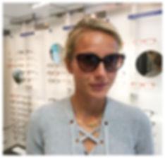 Optiker Helsingborg Klofves Optik Sarah Lahti friidrott