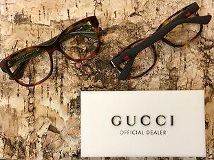 Optiker Helsingborg Klofves Optik glasögon nya bågar Gucci