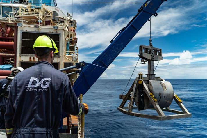 A repercussão da mineração em alto mar