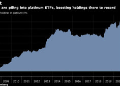 Os investidores que perderam a corrida do ouro acumulam fundos de platina