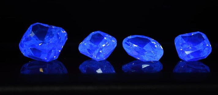 Alrosa empurra a venda de diamantes fluorescentes