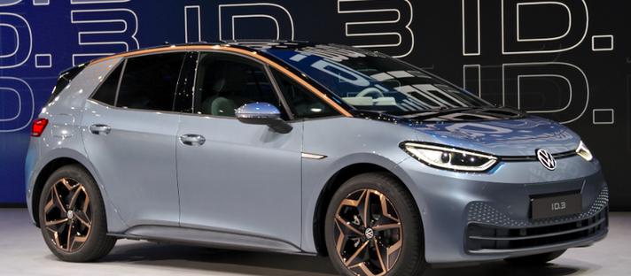 Auto estímulo alemão para impulsionar os veículos elétricos da VW